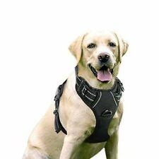 RABBITGOO Dog Harness No-pull Pet Adjustable Outdoor Vest 3m Reflective Oxford