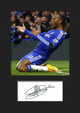 Didier Drogba - Chelsea Signed Photo A5 Mounted Print - FREE DELIVERY