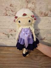 Handmade Amigurumi Crochet Victoria Doll