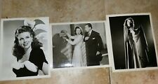 3 Vintage 8 x 10  Photos of Dusty Anderson  from her Movie DS9087