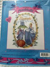 "Cross Stitch Disney ""An Enchanted Moment"" Cinderella Kit"