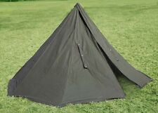 POLISH ARMY NOS MILITARY LAAVU TENT 2 PERSON (2x PONCHO) SHELTER TARP ( Size 2 )