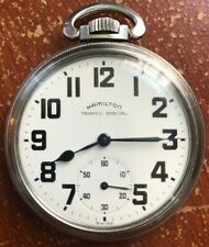 Vintage Hamilton Traffic Special Pocket Watch 16s 669 17j Movement