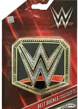 JAKKS WWE world heavyweight CHAMPIONSHIP EASY CLIP ON TITLE BELT BUCKLE NEW