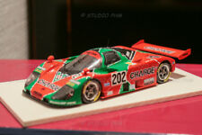 MAZDA 767B N°202 MAZDASPEED CHARGE 9° 24H du MANS 89 P.Moulage 1:43 No Spark