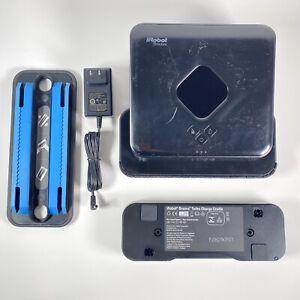 iRobot Braava Model 380 Black Mopping Robot W/ Charger