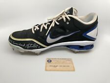 David Wright Signed Nike Game Cleat 2012 - New York Mets - Steiner