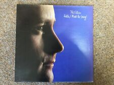 """1982  PHIL COLLINS  Hello I must be Going Vinyl  12"""" LP Record"""