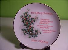 PLATE - THE GIFT OF CHRISTMAS - ROBERT LAESSIG - NR