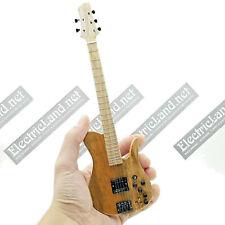 Mini Guitar bass 1:4 Fodera Richard Bona Imperial miniature collectible gadget
