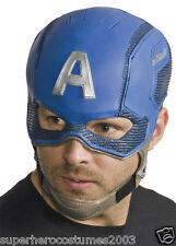 Avengers Age of Ultron Captain America Adult Mask Marvel Comics NWT Rubies 36460
