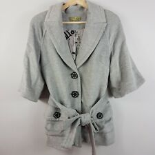 [ KATHERINE ] Womens Wool Blend Coat / Jacket | Size AU 8
