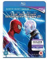 The Amazing Spider-Man 2 [Blu-ray 3D + Blu-ray] [2014] [Region Free] [DVD]