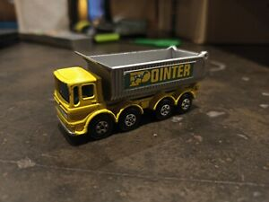 Matchbox lesney Camion Benne ergomatic car Superfast pat app made in England