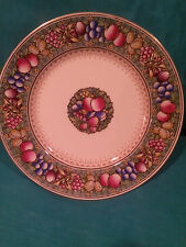 "VINTAGE MINTON ROTIQUE PATTERN COLLECTOR PLATE ""FRUIT AND NUTS"" # E4664"