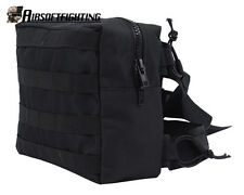 Tactical MOLLE Drop Leg Waist Pouch Hunting Camping Cycling Thigh Bag Black