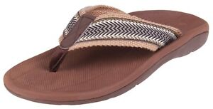 Comforthotics® Men's Danny Summer Flip Flop Sandal Orthotic Arch Support