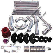 Intercooler Turbo Intake Kit For 83-88 Toyota Truck Hilux 2JZ-GTE Twin Turbo