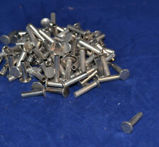 """Tubular Rivets - Nickel Plated - 7/16"""" - Pack of 100 (F200)"""