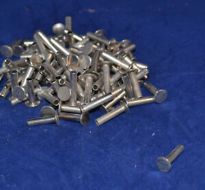 """Tubular Rivets - Nickel Plated - 7/16"""" - Pack of 300 (F201)"""