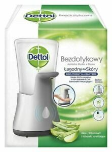 Dettol No Touch Hand Wash System Aloe Vera 250ml Brand New