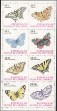 Equatorial Guinea 1977 Butterflies/Insects/Nature/Wildlife 8v sht (b4958)