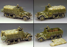 KING & COUNTRY BATTLE OF THE BULGE AMERICAN BBA030 M3A2 HALF TRACK SET MIB