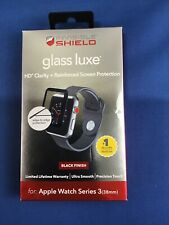 ZAGG Invisible Shield Glass Luxe Screen Protector Apple Watch Series 3 - 38mm