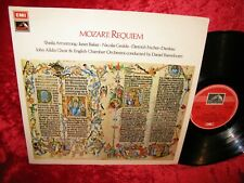 New listing 1972 UK NM ASD 2788 STEREO MOZART REQUIEM ARMSTRONG BAKER ECO BARENBOIM