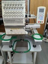 Used 15 needles industrial embroidery machine.            Services required.