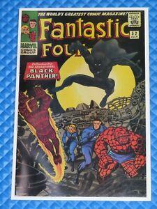 *Fantastic Four #52 SA Marvel REPRINT VF+/VF/NM 8.5/9.0 Key 1st Black Panther*