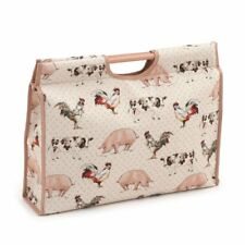 Hobby Gift 'Farmyard' Knitting Craft Bag (d/w/h): 11 x 42 x 30cm
