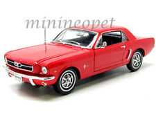 WELLY 12519 1964 1/2 FORD MUSTANG HARD TOP 1/18 DIECAST MODEL CAR RED