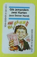 Ersatzkarte Mad Kartenspiel // Gib 2 Karten - Blau