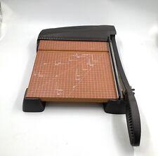 Xacto Paper Cutter 12 Heavy Duty Wood Based Trimmer Model 26312