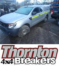 2013 FORD RANGER 2.2TD MANUAL 4X4 KING CAB BREAKING PART SILVER REAR BODY & TOP