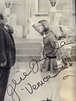 JULIE DAWN COLE SIGNED WILLY WONKA  8x10 PHOTO UACC REGISTERED DEALER B/W