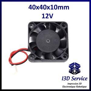 Fan 4010 Axial 40x40x10mm 12V - Printer 3D Prusa, Anet A8