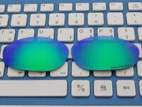 Replacement Green Polarized Lenses for-Oakley Monster Dog Sunglasses
