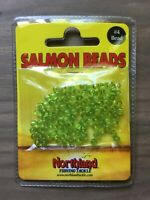 Northland Fishing Tackle - Salmon Beads - Size 4mm - Green - 100/Bag