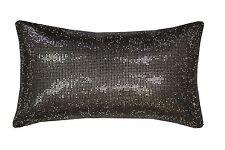 Filled Kylie Minogue Aurora Mauve Diamante Satin 18x32cm Cushion