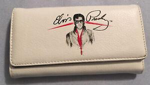 Elvis Presley Wallet, White, VGUC