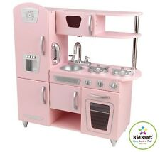 KIDKRAFT PINK VINTAGE KITCHEN CHILDREN KIDS PRETEND PLAY COOKING TOY