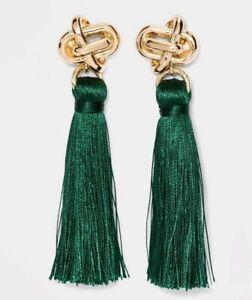 mykt Metallic Golden Tassel Tassel Necklace Mini Tassel Seed Beaded Tassel Bohemian Jewelry Silver Tassel Tassel Earring