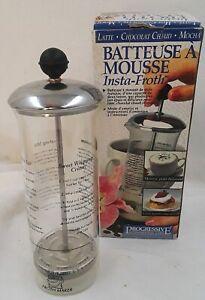 Insta-Froth Froth Maker Progressive International FMP-1 Coffee espresso