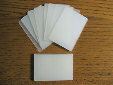 LAMINATING / LAMINATOR POUCHES 3-1/2 X 5-1/2 INDEX CARD - RECIPE FILE - OFFICE