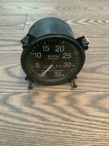 Bristow Aircraft Mechanical Tachometer