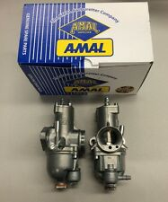 BSA MOTORCYCLE 500 CARB SET AMAL 626 CARBURETORS RIGHT/LEFT- NEW!!!