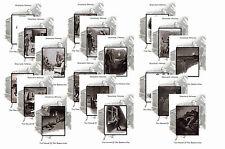 SHERLOCK HOLMES ILLUSTRATIONS - HOUND OF THE BASKERVILLES- POSTCARD SET