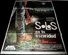 1982 Alone in the Dark ORIGINAL SPAIN POSTER Jack Palance CULT SLASHER
